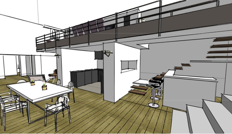 portfolio architectural design d 39 espace par charlotte. Black Bedroom Furniture Sets. Home Design Ideas